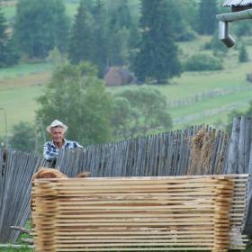 海外ボランティア拠点ヨーロッパの田舎の風景